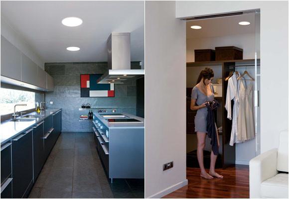 Empotrables downlight de techo iluminacion online - Focos pasillo ...